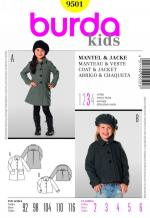 Burda 9501 Pattern
