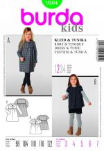 Burda 9504 Pattern