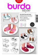 Burda 9512 Pattern