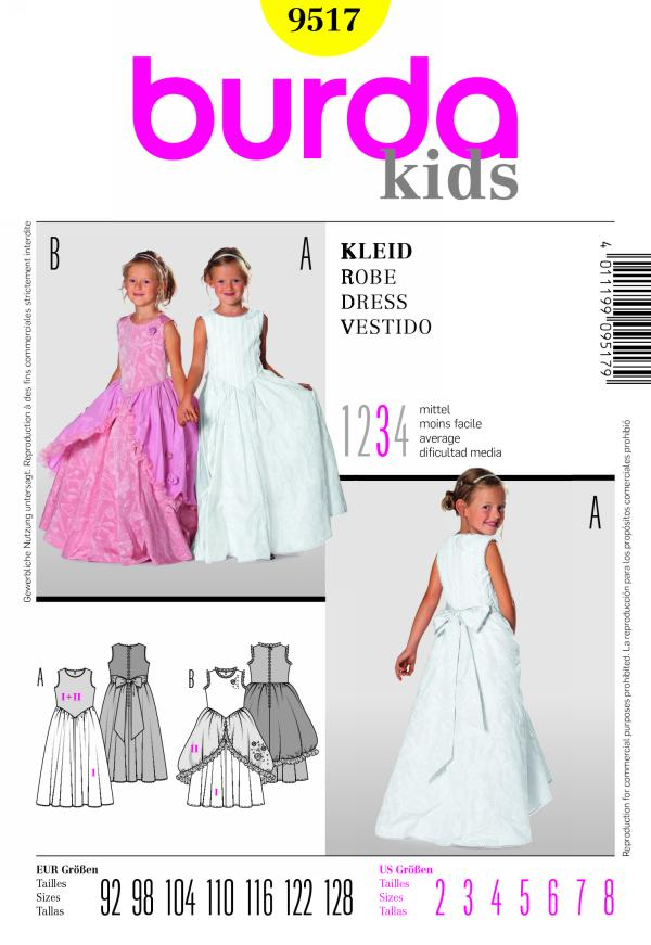 Burda DRESS 9517