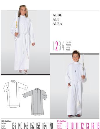 Burda Communion Costume 9541
