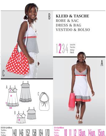 Burda DRESS & BAG 9542