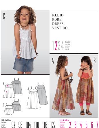 Burda Children's DRESS 9552