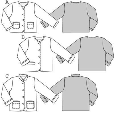 Burda Children's Jacket 9601
