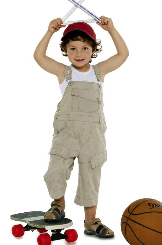 Burda Bibbed trousers/pants (dungarees) 9609