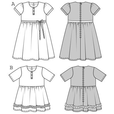 Burda Dress 9612