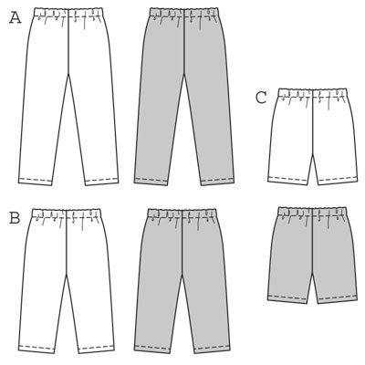 Burda Child's Leggings 9615