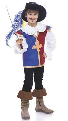 Burda Child's Musketeer Costume 9659