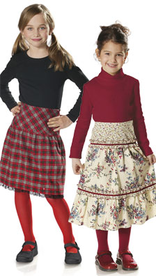 Burda Child's Skirts 9665
