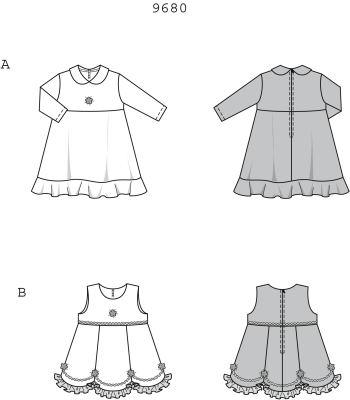 Платья и сарафаны на осень с выкройкой