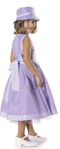 Burda Child's Dress & Hat 9696