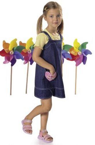 Burda Children's Dress & Pants 9703
