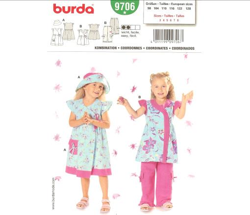 Burda Coordinates 9706