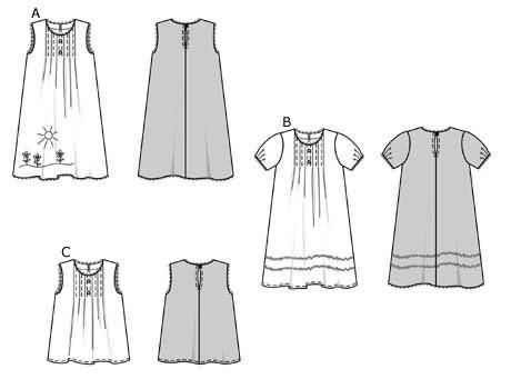9885a Sewing Patterns Burda
