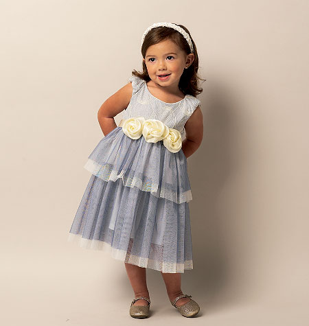 Butterick 5843 Toddlers'/Children's Dress
