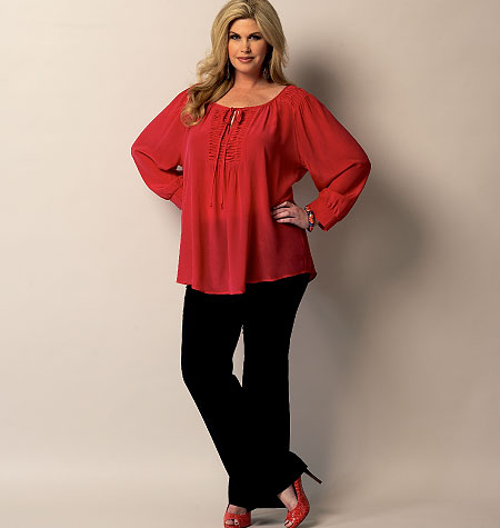 Butterick Misses'/Women's Tunic 5861