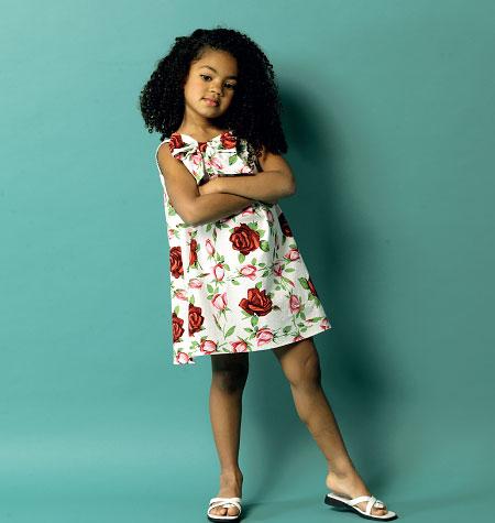 Butterick Children's Dress 5876