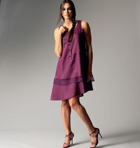 Butterick Misses Dress 5881