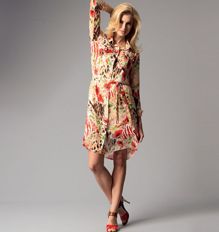 Butterick Misses'/Women's Top, Dress, Belt, Shorts, Pants and Slip 5897