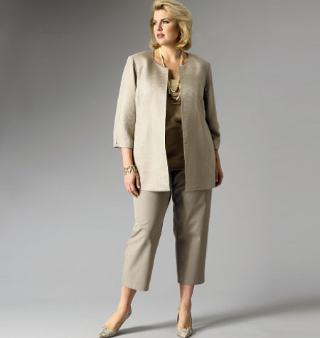 Butterick Women's Jacket, Top, Dress, Skirt and Pants 5899