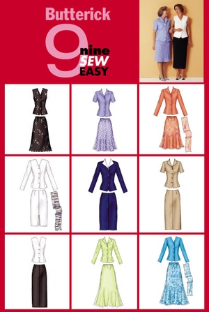 Butterick jackets and skirts 3037