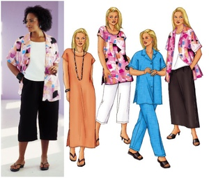 Butterick Fast & Easy separates 3039