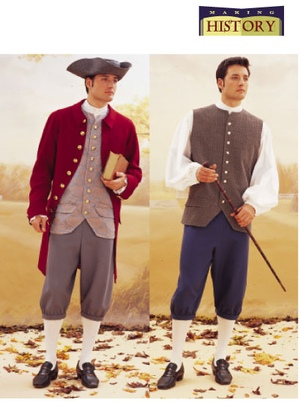 Butterick Man's Colonial Costume 3072