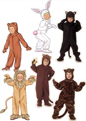Butterick Animal Costumes 3238