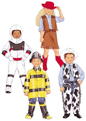 Butterick Cow Girl Costume 3244