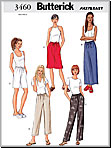 Butterick 3460 Pattern