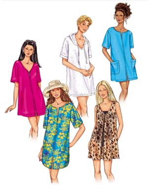 Butterick Cover-up 3474