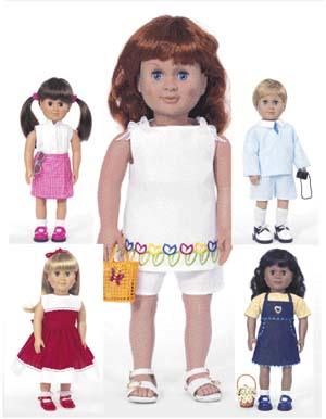 Butterick Doll clothes 3491