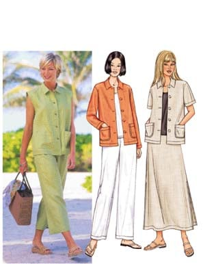 Butterick Fast and Easy 3532