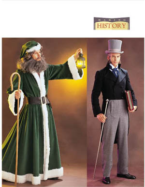 Butterick Men's Victorian Costumes 3648