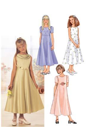 Butterick Girl's dress 3714