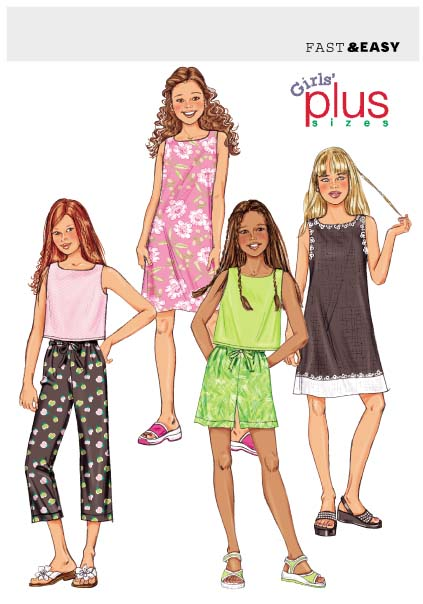 Butterick Fast & Easy 3860