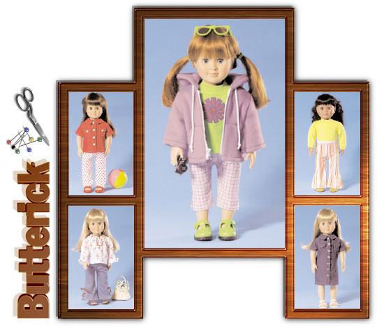 Butterick AG doll clothes 4089