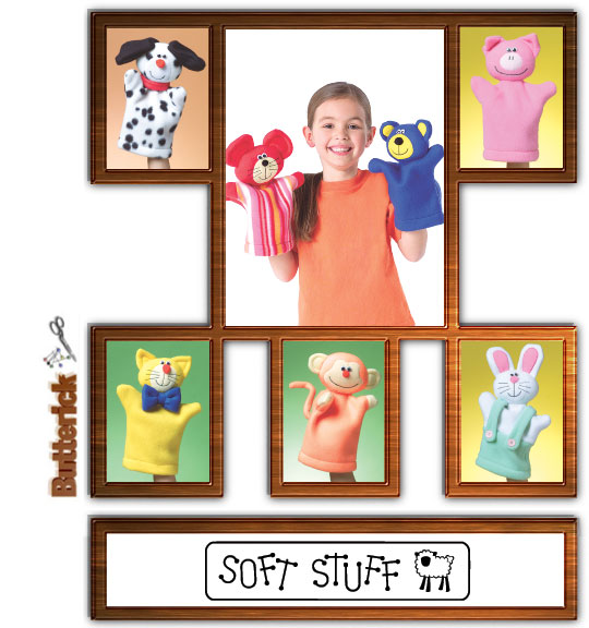 Butterick Fleece Puppets 4209