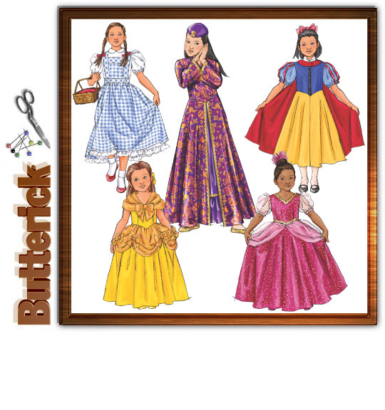 Butterick Girls' Costumes 4320