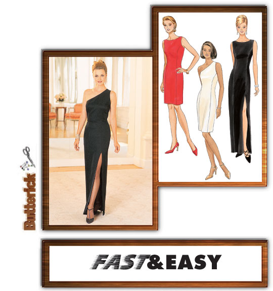 Butterick Lined Dress 4343