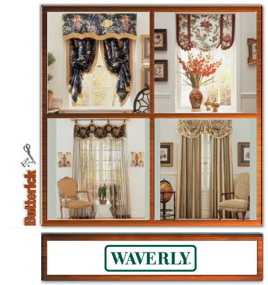 Butterick Waverly Window Treatments 4373