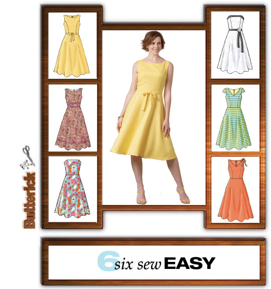 Butterick Dress 4443