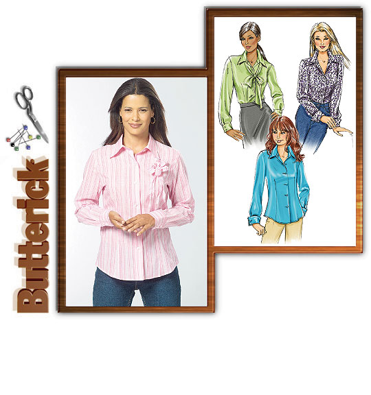 Butterick Misses Shirts 4609