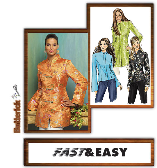 Butterick Chinese Jacket 4688