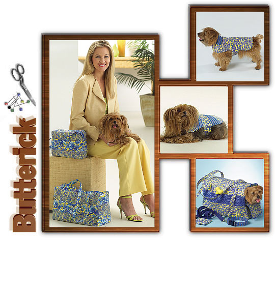 Butterick dog accessories 4696