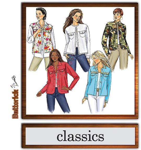 Butterick Classics--jeans jacket 4741
