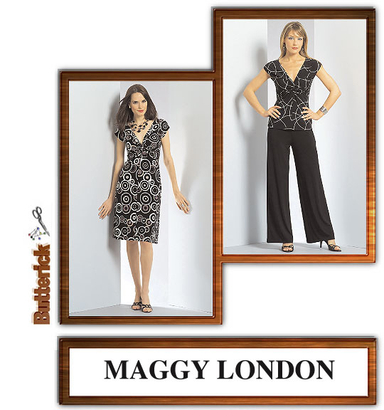 Butterick Maggy London Twist Top 4789