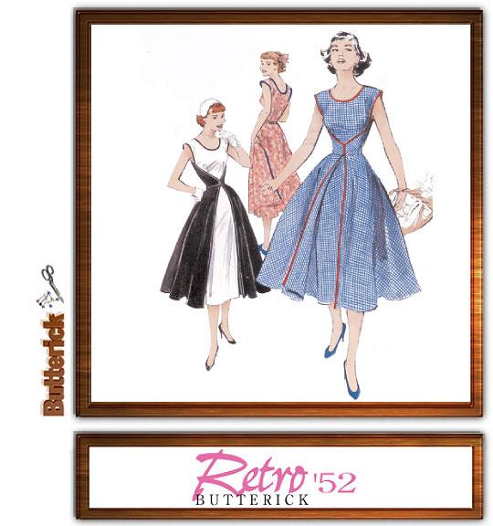 Butterick Retro '52 Wrap Dress 4790