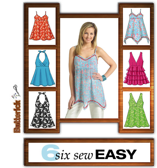 Butterick six sew easy 4800