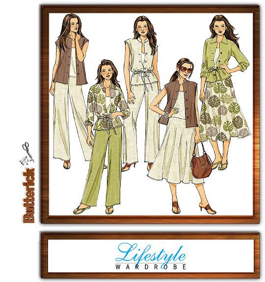 Butterick Lifestyle Wardrobe 4811